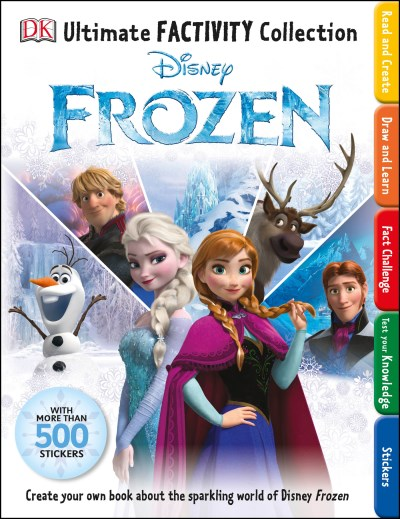 Dk Ultimate Factivity Collection Disney Frozen