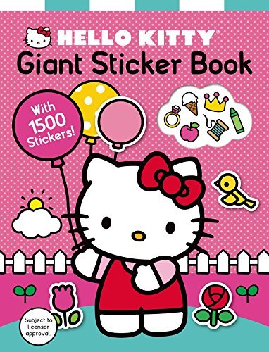 Roger Priddy Hello Kitty Giant Sticker Book With 1500 Stickers