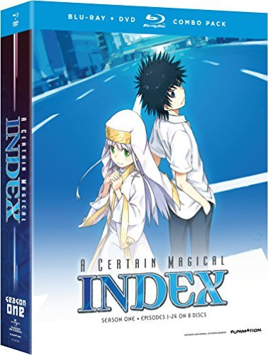 Certain Magical Index Season 1 Blu Ray DVD