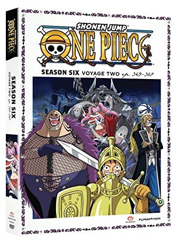 One Piece Season 6 Voyage 2 DVD