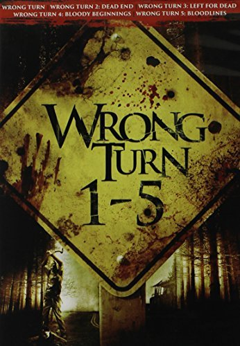 Wrong Turn Collection 1 5 DVD