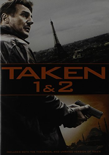 Taken 1 & 2 Double Feature DVD