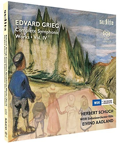 Grieg Schuch Aadland Col Complete Symphonic Works Iv