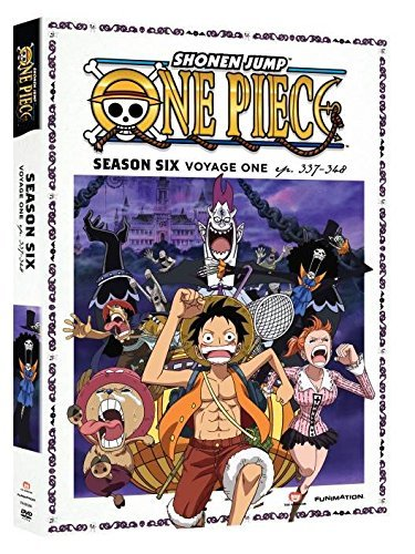 One Piece Season 6 Voyage One DVD