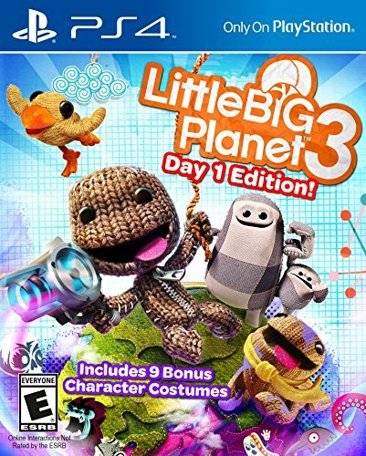 Ps4 Little Big Planet 3 Launch Edition