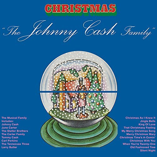 Johnny Cash Johnny Cash Family Christmas 180 Gram Red Vinyl