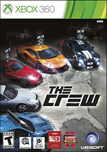 Xbox 360 The Crew ***requires Hard Drive***