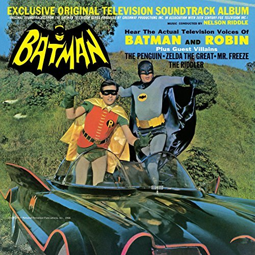 Batman Soundtrack Nelson Riddle Lp