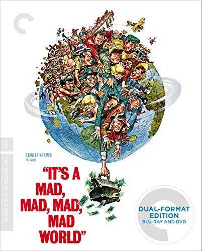It's A Mad Mad Mad Mad World Tracy Berle Caesar Hackett Merman Blu Ray DVD G Ws Criterion Collection