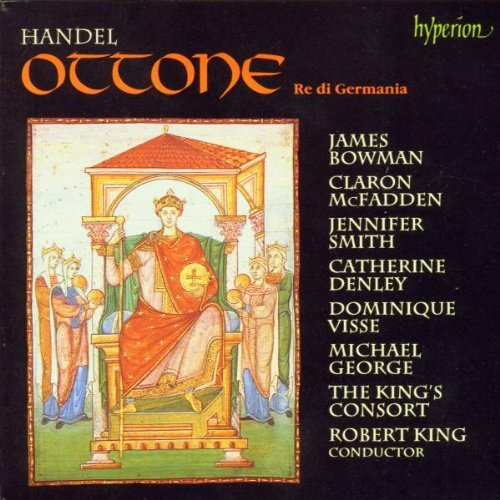 George Frideric Handel Ottone Re Di Germania Bowman Mcfadden Smith Denley + King King's Consort