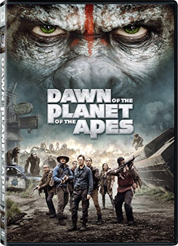 Planet Of The Apes Dawn Of The Planet Of The Apes Serkis Oldman Russell DVD Pg13