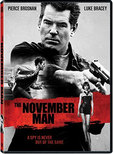 November Man Brosnan Bracey DVD R