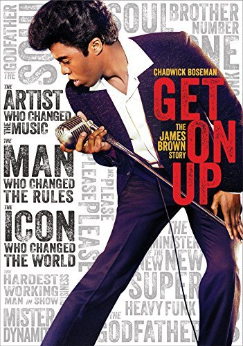Get On Up Boseman Ellis Aykroyd DVD Pg13