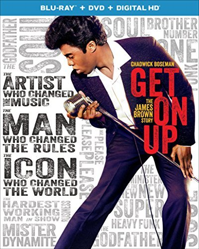 Get On Up Boseman Ellis Aykroyd Blu Ray DVD Dc Pg13