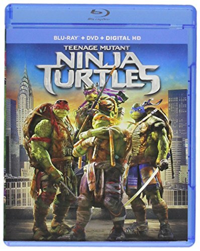 Teenage Mutant Ninja Turtles (2014) Fox Arnett Blu Ray DVD Dc Pg13