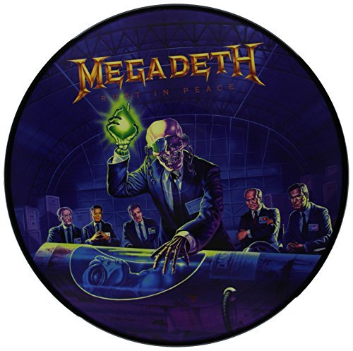 Megadeth Rust In Peace Picture Disc