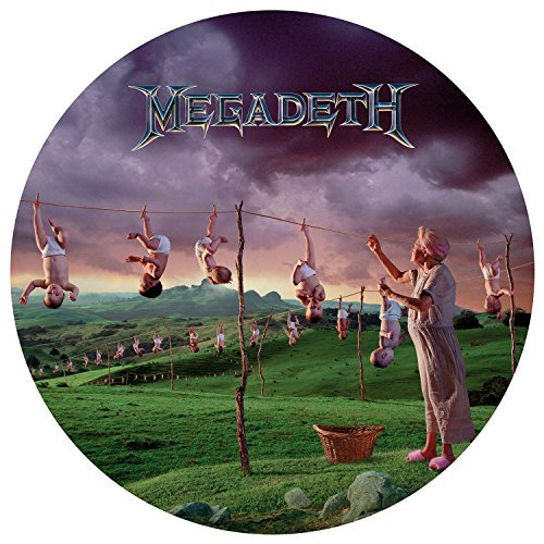 Megadeth Youthanasia Explicit Picture Disc