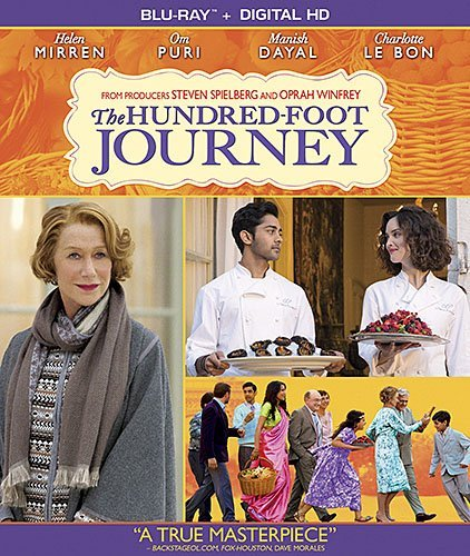 Hundred Foot Journey Mirren Puri Dayal Blu Ray Dc Pg13