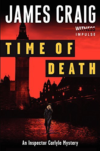 James Craig Time Of Death An Inspector Carlyle Mystery