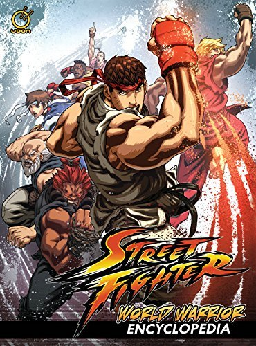 Matt Moylan Street Fighter World Warrior Encyclopedia Hardcover