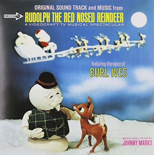 Burl Ives Rudolph The Red Nosed Reindeer Lp