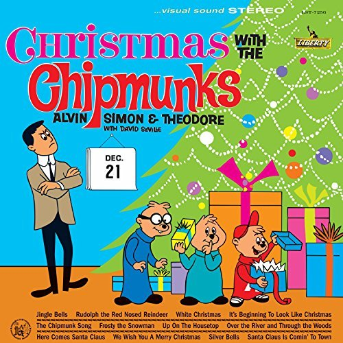 The Chipmunks Christmas With The Chipmunks Lp
