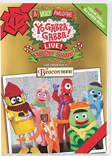 Yo Gabba Gabba Very Awesome Live Holiday Show DVD