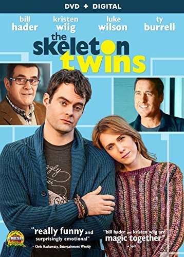Skeleton Twins Wiig Hader Wilson DVD R