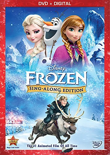 Frozen Sing Along Edition Disney DVD Dc Pg