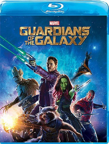 Guardians Of The Galaxy Pratt Saldana Cooper Diesel Bautista Blu Ray Pg13