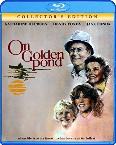On Golden Pond Hepburn Fonda Fonda Blu Ray Pg