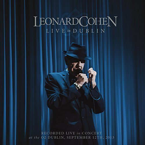 Leonard Cohen Live In Dublin 3 CD Blu Ray