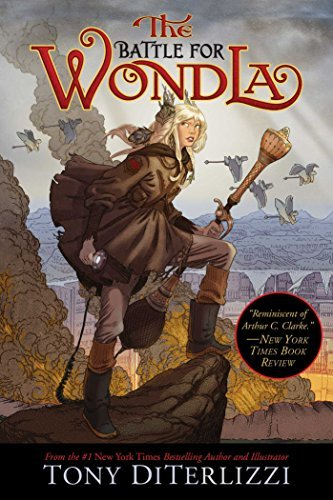 Tony Diterlizzi The Battle For Wondla Reprint