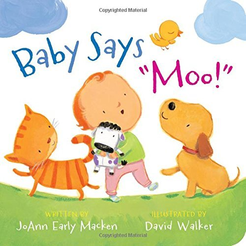 "Joann Early Macken Baby Says ""moo!"" [padded Board Book]"