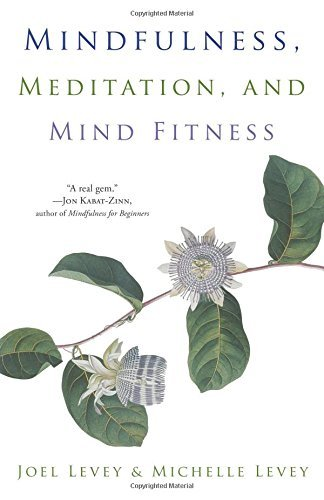 Joel Levey Mindfulness Meditation And Mind Fitness