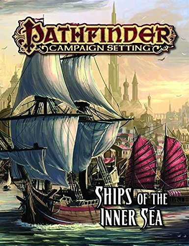 Benjamin Bruck Pathfinder Campaign Setting Ships Of The Inner Sea