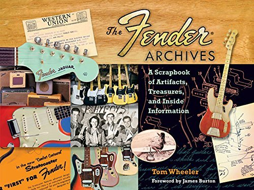 Tom Wheeler The Fender Archives A Scrapbook Of Artifacts Treasures And Inside I