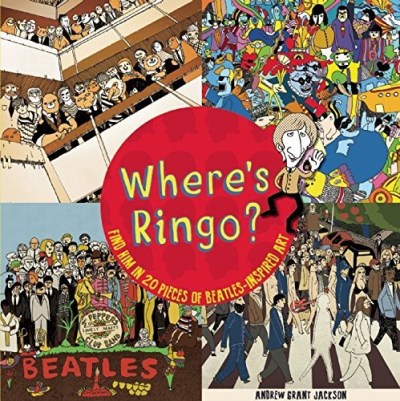 Andrew Grant Jackson Where's Ringo? Find Him In 20 Pieces Of Beatles Inspired Art