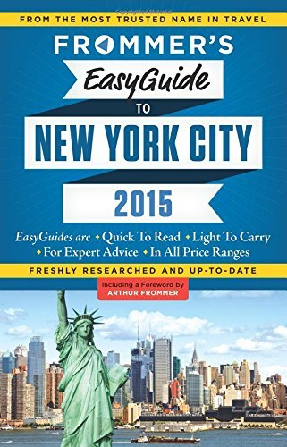 Pauline Frommer Frommer's Easyguide To New York City 2015 0002 Edition;