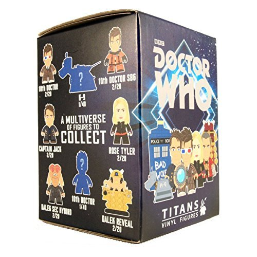 Doctor Who Titans 10th Doctor Blind Boxed Figure