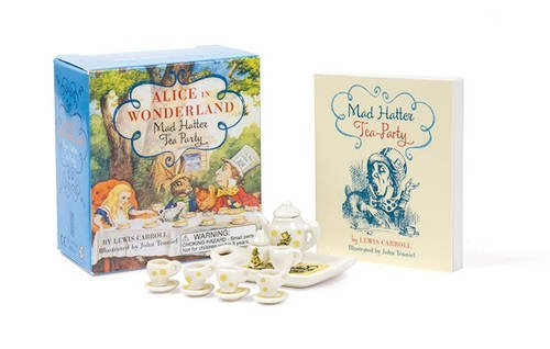 Running Press Alice In Wonderland Mad Hatter Tea Party [with Booklet]