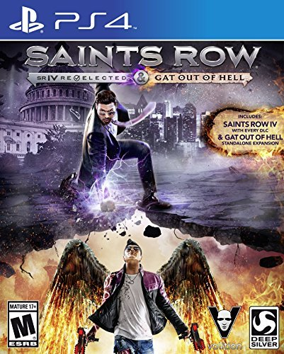 Ps4 Saints Row Iv Re Elected And Gat Out Of Hell
