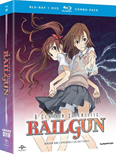 Certain Scientific Railgun Season 1 Blu Ray DVD