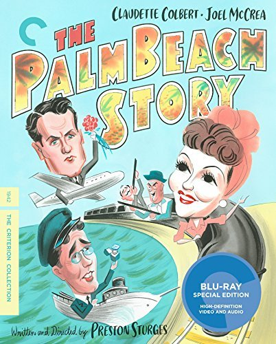 Palm Beach Story Colbert Mccrea Astor Blu Ray Nr Criterion Collection
