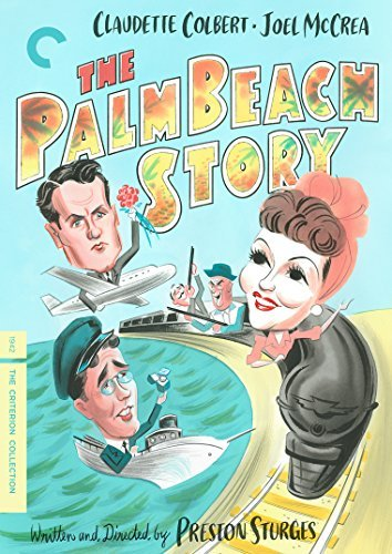 Palm Beach Story Colbert Mccrea Astor DVD Nr Criterion Collection