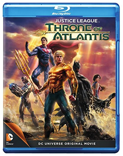Justice League Throne Of Atlantis Justice League Throne Of Atlantis Blu Ray DVD Pg13