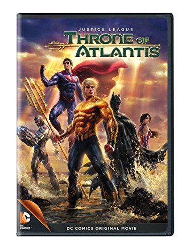 Justice League Throne Of Atlantis Justice League Throne Of Atlantis DVD Pg13