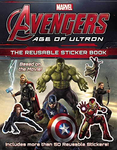 Marvel Marvel's Avengers Age Of Ultron The Reusable Sticker Book