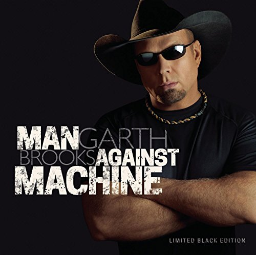 Garth Brooks Man Against Machine Limited Edition Cover