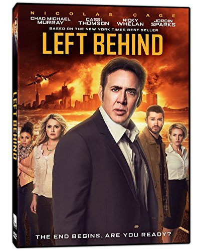 Left Behind Cage Murray DVD Pg13